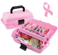 1 Tray Pink Ribbon