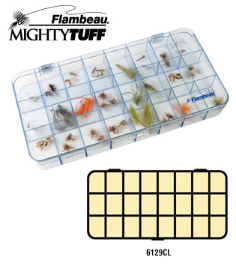 Mighty tuff fly box 24 compt.