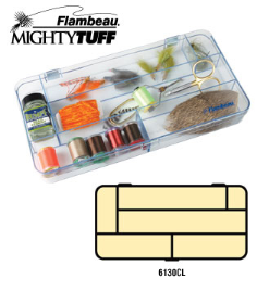 Mighty tuff fly box 6 compt.